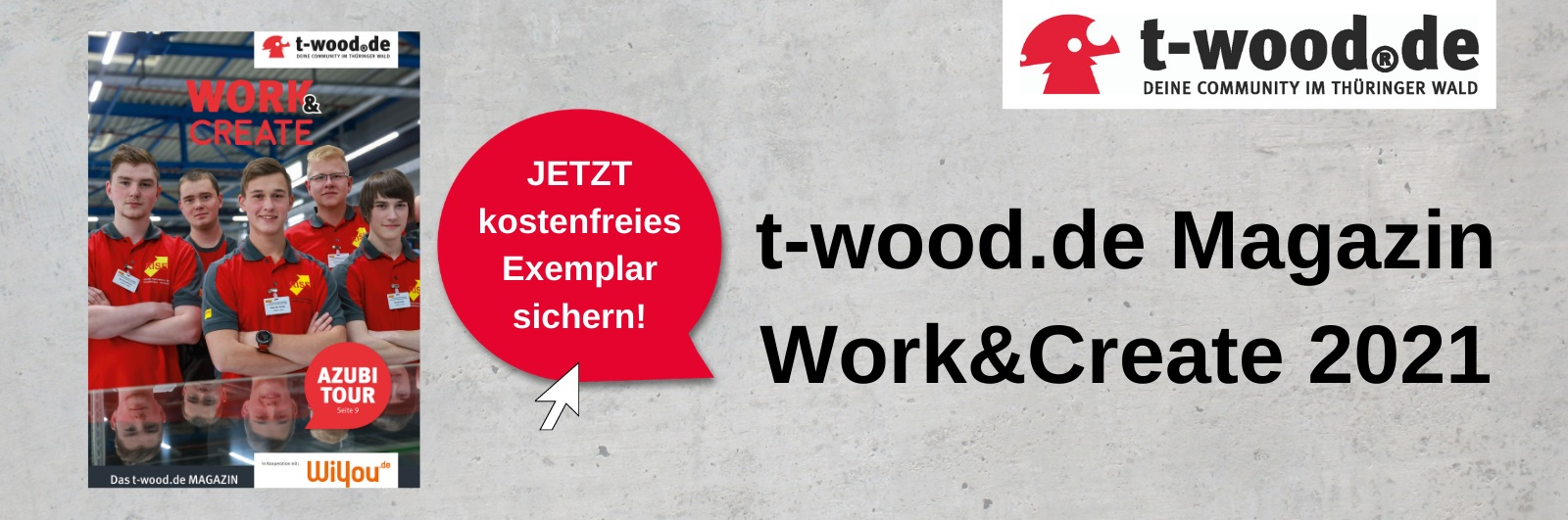 t-wood Magazin