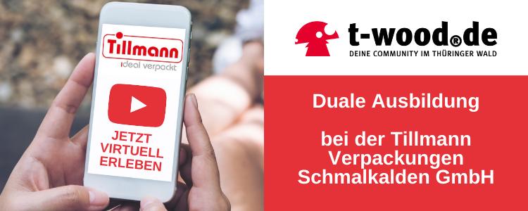 Duale Ausbildung bei Tillmann Verpackungen Schmalkalden GmbH