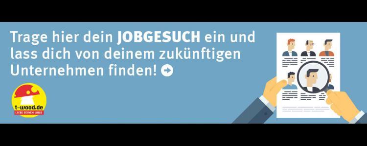 Banner Trage hier dein Jobgesuch ein und lasse dich von deinem zukünftigen Unternehmen finden