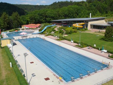 Schwimmbad Berg